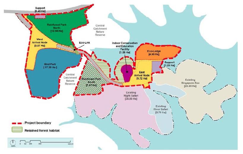 Mandai Develeopment Concept Masterplan